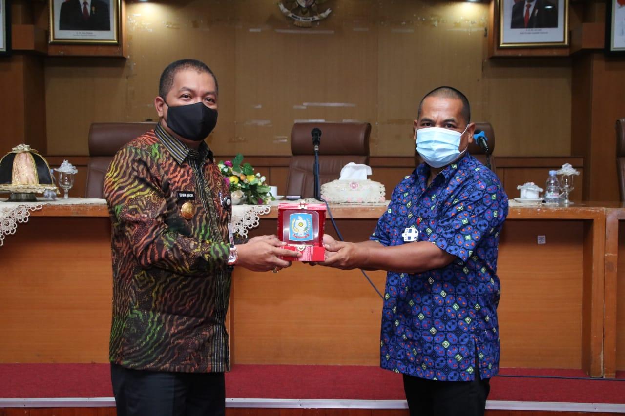 Pjs Bupati Soppeng Coffe Break Pamitan Akhir Masa Jabatannya di Kabupaten Soppeng