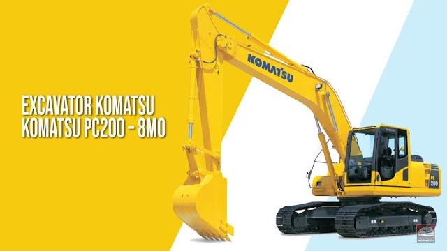 Excavator Komatsu PC200 – 8M0