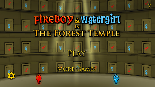 Fireboy & Watergirl in The Forest Temple 1