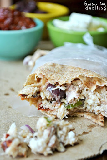 Mediterranean Tuna Wrap 5