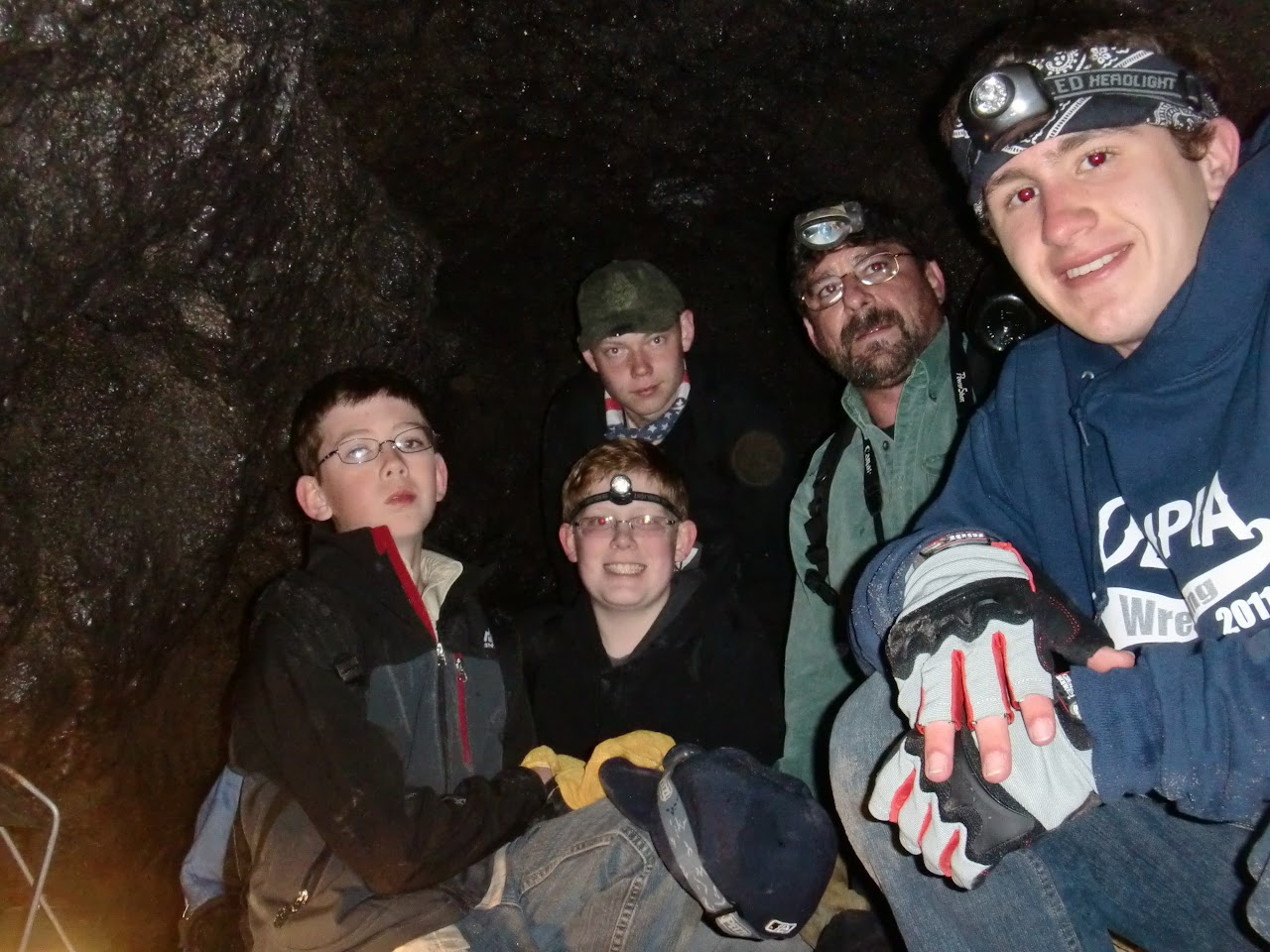 At the end of Lower Cave