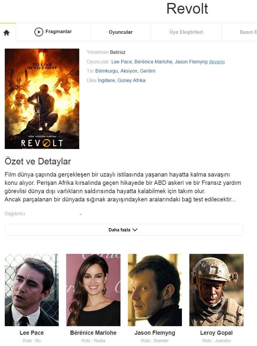 Revolt 2017 - 1080p 720p 480p - Türkçe Dublaj Tek Link indir