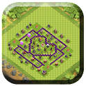 Town Hall 7 Trophy Base Layout icon