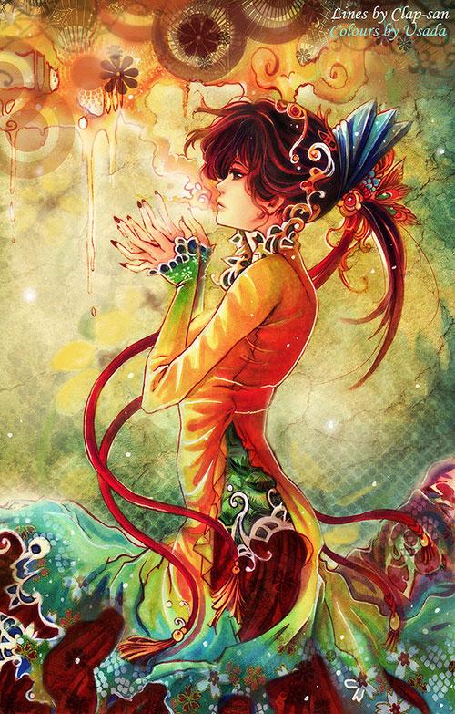 Anime Dj Wallpaper Ilustraciones Sorprendentes De Mangas Y Animes