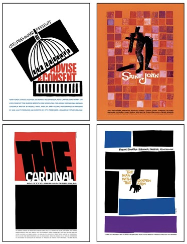 Saul Bass 20 Iconic Film Posters - posters