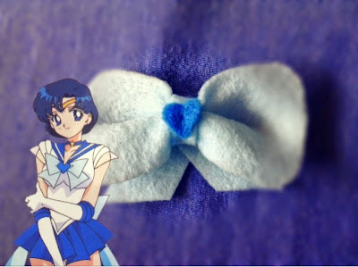 DIY Sailor Mercury Bow