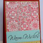 CH0142-D Warm Wishes December 2012 Outside of card Design by Tammy Hershberger