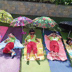 Sun Bathing Activity done by Playgroup Afternoon Section at Witty World, Chikoowadi (2018-2019)