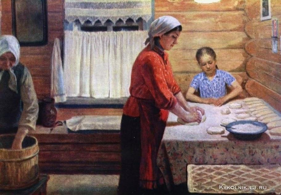 Как оплодотворяли баб в семьях на деревне в былые времена — pic 2