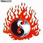fire - Yin Yang Tattoos Designs