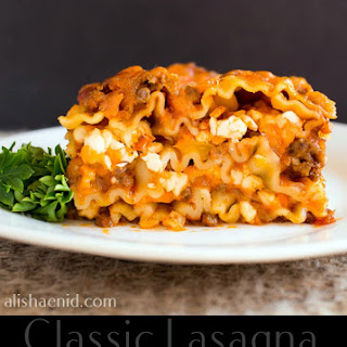 Classic Lasagna with a Twist