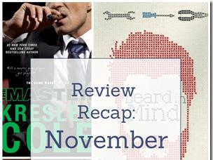 Book Review Recap: November 2018