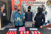 Diawali Buang Kantong Kresek di Kali, Glagat Mencurigakan, Janda Karang Bagu Mataram Ditangkap Edarkan Sabu