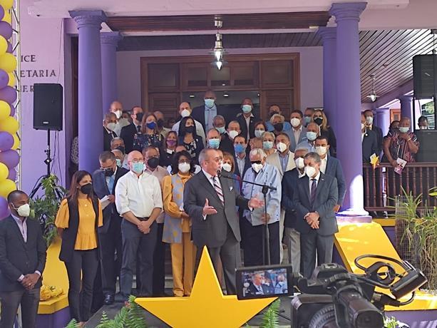 Danilo Media no asiste al acto del PLD en conmemoración a Juan Bosch