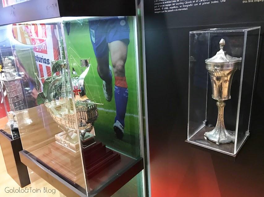 Museo del estadio de fútbol El Molinón