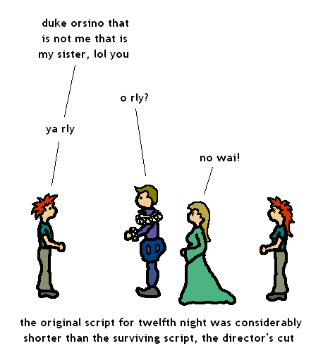 essay on the love triangle in twelfth night