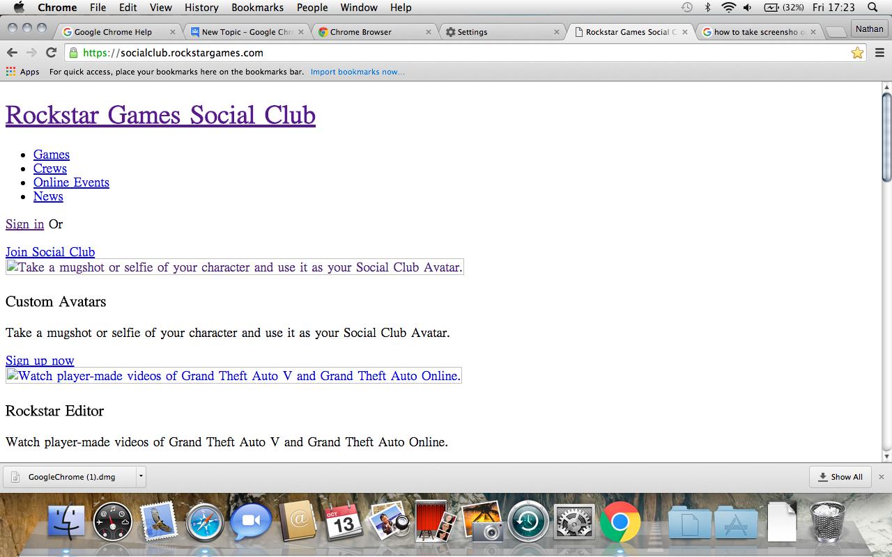 chrome only displays text on a website (mac osx) - Google Chrome Help