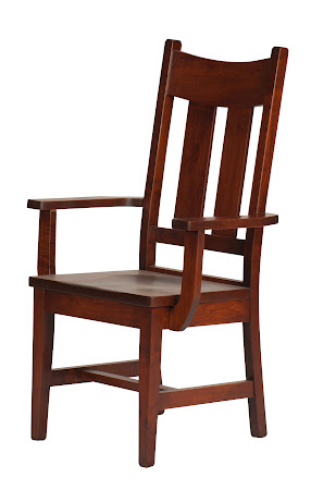 Montrose Chair in Montrose Dining Chair in Iconic MapleNatural Walnut