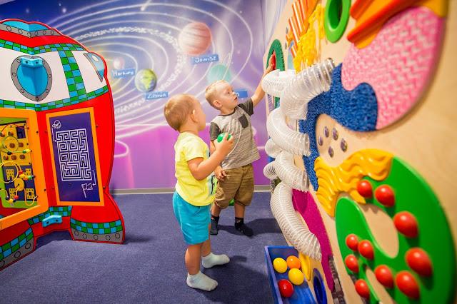 Sala zabaw – doskonała rozrywka dla dzieci nie tylko na pochmurny dzień