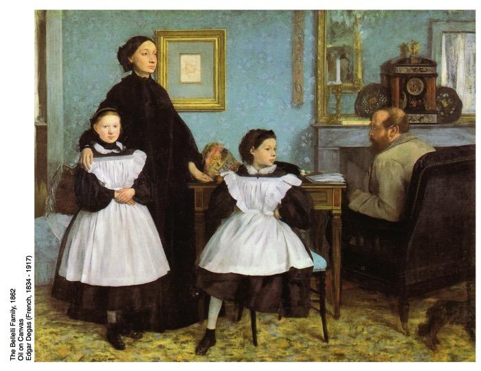 The Bellelli family Edgar Degas