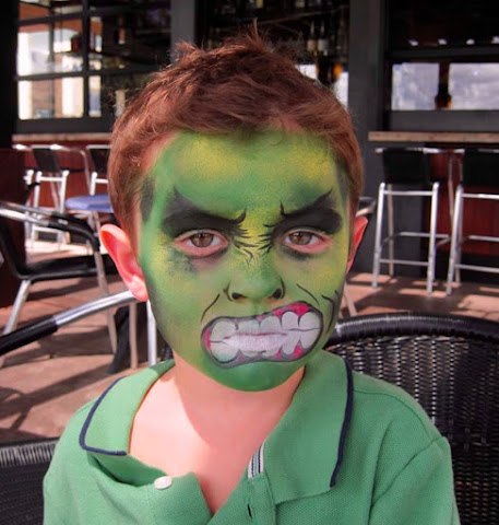 maquillaje-halloween-pintacaras-disfraz-niños-infancia-Hulk