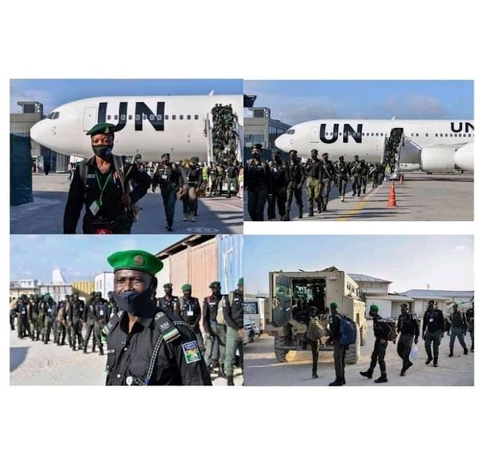 Nigerian police officers reportedly arrive in Somalia to boost security