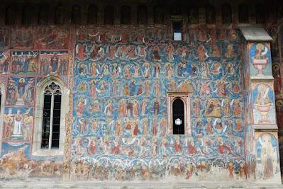 Kloster Moldovita, der Baum Jesses