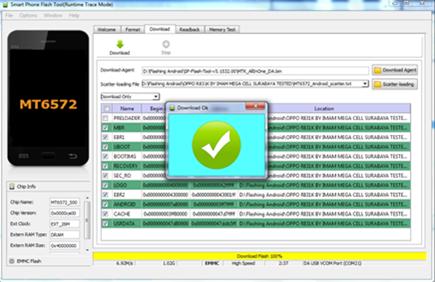 Cara Flashing Oppo Find 7a Via SP Flashtool | Cara Flashing