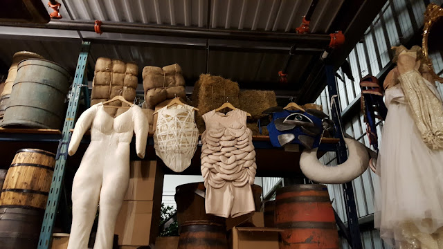 Undergarments to make the actors bigger at the Stratford Festival Costume Warehouse. From Visiting Stratford, Ontario? The first thing you need to do...