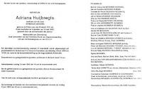 Huijbregts, Adriana Bidprentje a.jpg