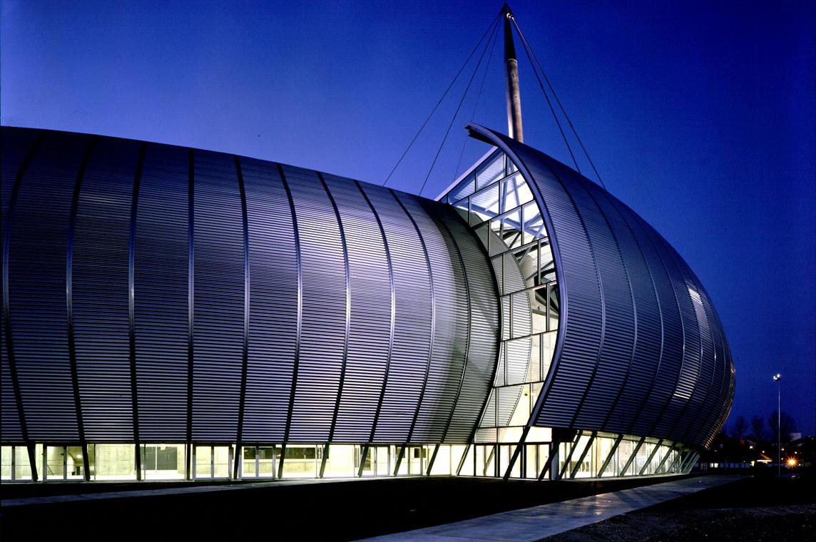 Rouen Concert and Exhibition Hall design by Bernard Tschumi Architects