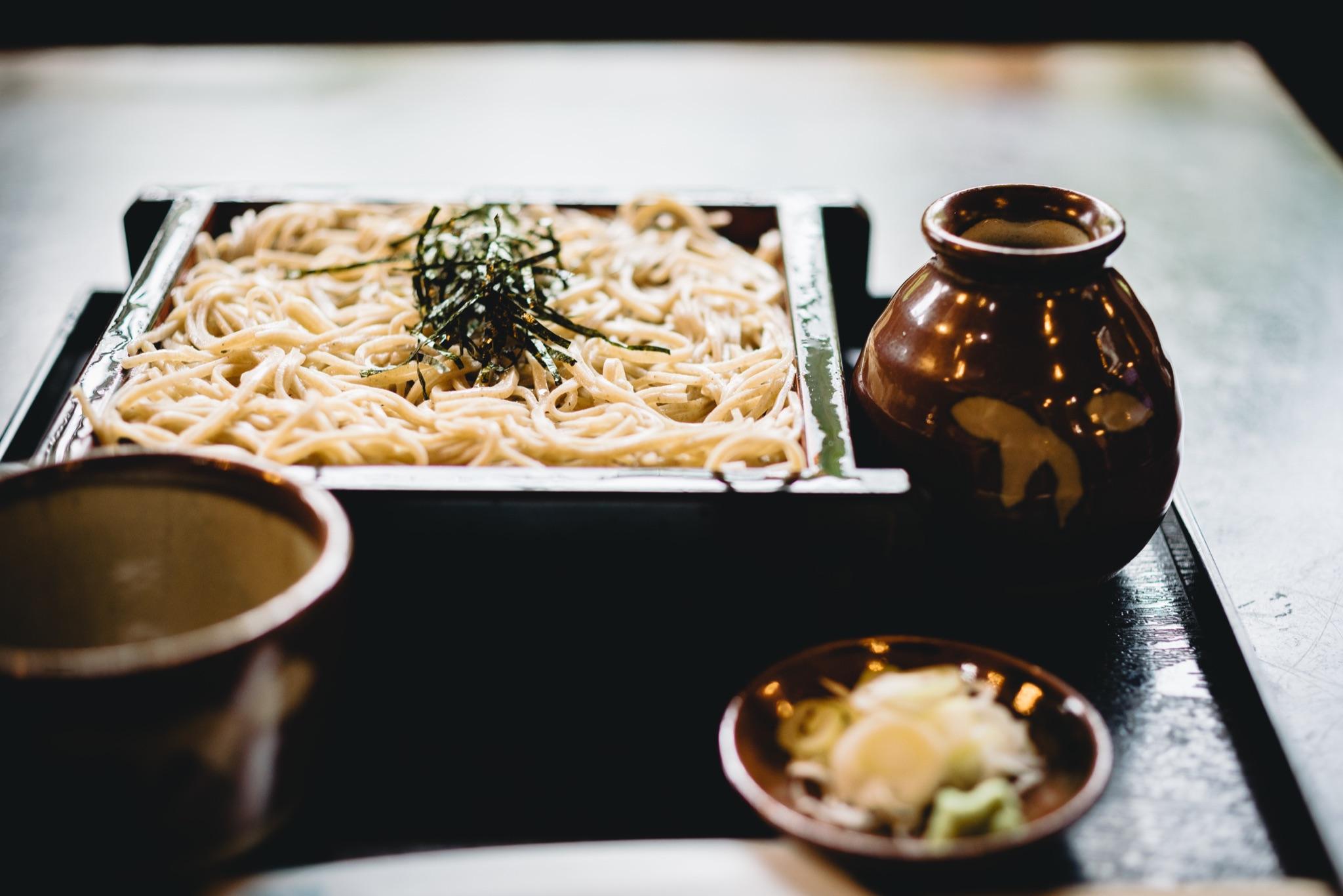 「蕎麦」の漢字の由来と語源