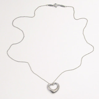 Tiffany & Co. X Elsa Peretti Open Heart Pendant Necklace