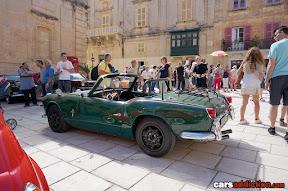 Triumph classic car