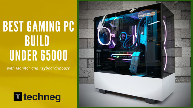 Best Gaming PC Build under 65000 in India with Intel Core i3-10105F