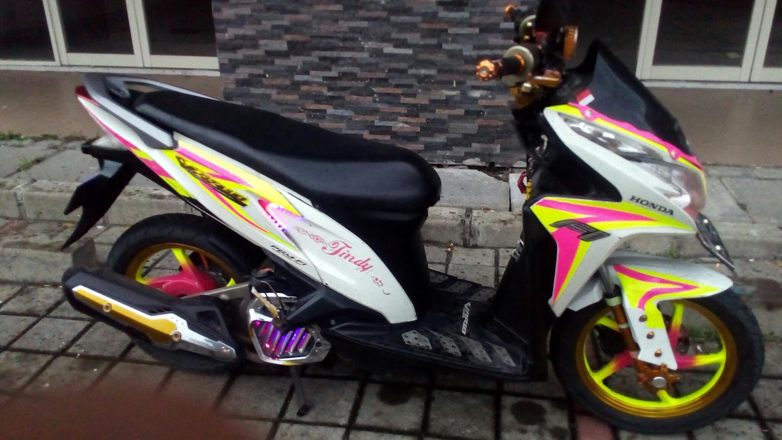 Modifikasi Vario 125 Modifikasi Vario 125