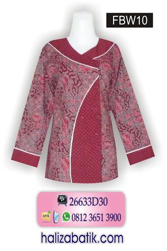 model baju kerja wanita, grosir busana, gambar baju batik
