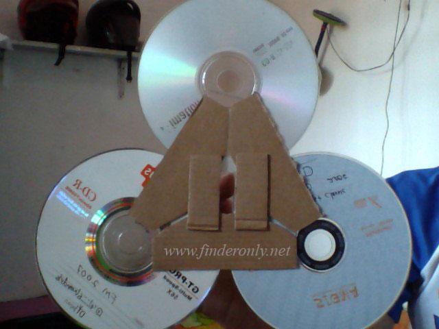 Penguat Sinyal Modem Cantik dengan CD Bekas