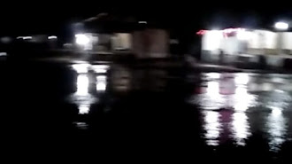 Awas dan Waspada ! Malam Ini Air Rob Sudah Naik ke Daratan di Pantai Pakisjaya (Video)