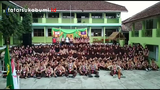 Gudep Yayasan Pendidikan Islam Albhasry di Kecamatan Kalapanunggal menggelar acara Kegiatan Tahunan Penerimaan Tamu Ambalan - Asep M-Rhe