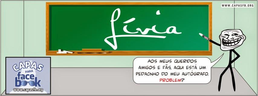 Capas para Facebook Lívia