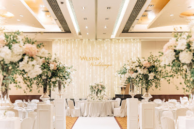 Westin KL luxe elegant wedding