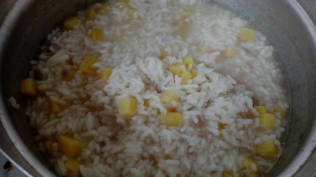 Bubur Nasi versi Sha
