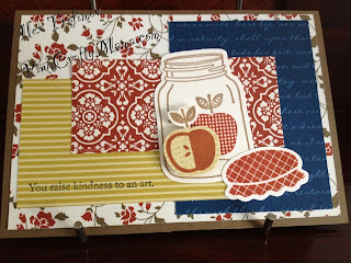 stampin up stampin' up! card cards perfectly preserved mason jar apples fall autumn thankyou thank you comfort cafe dsp