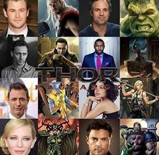 daftar pemeran dan tokoh di film thor 3 ragnarok