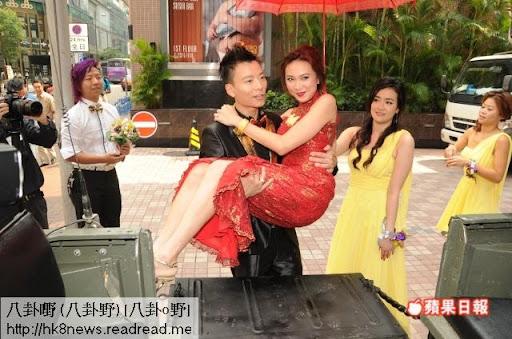 陳志健與羅樂林女兒羅苡之婚禮