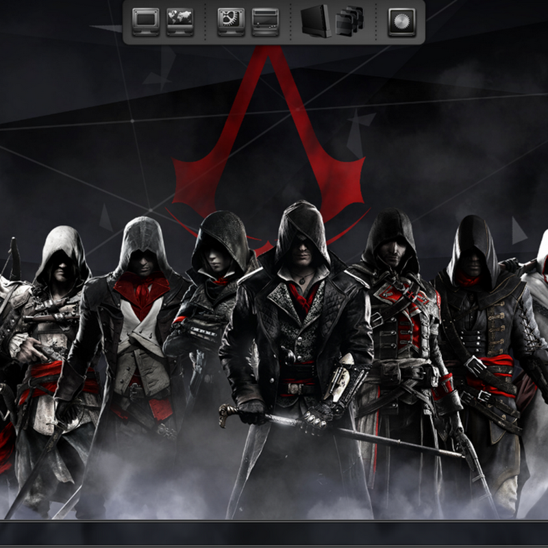 Assassins Creed Theme with eXtreme eXternal Pack System v3.1