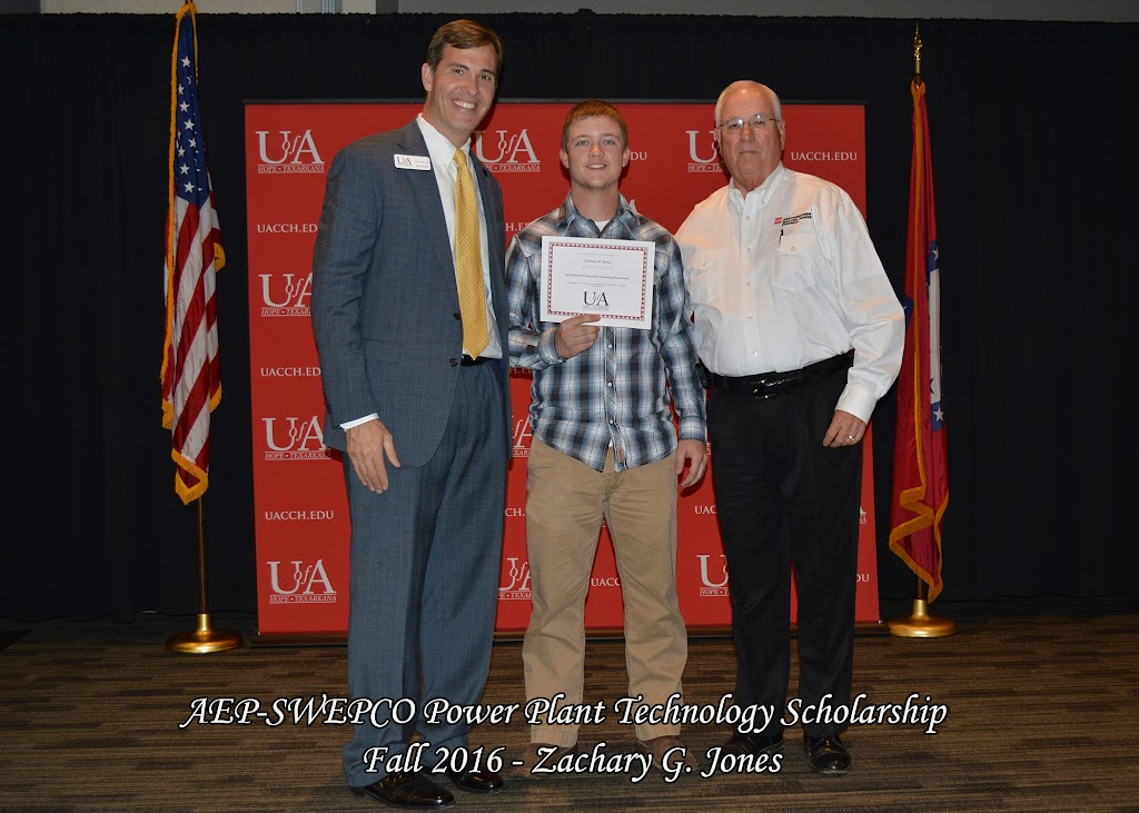 Fall 2016 Scholarship Ceremony - AEP-SWEPCO%2BPower%2BPlant%2BTechnology%2B-%2BZachary%2BJones.jpg
