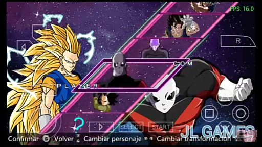 SAIUU NEW NOVO MOD DRAGON BALL Z VS GT SHIN BUDOKAI DOWNLOAD (PSP) DESCARGA 2018