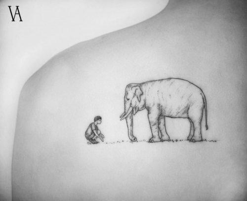 este_cativante_elefante_tatuagem